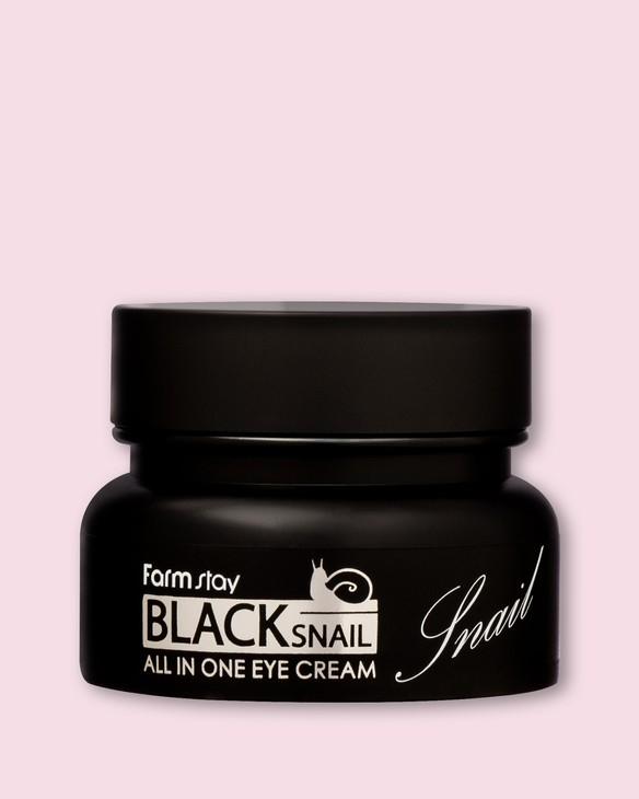 Farmstay Očný krém Black Snail All-In-One Eye Cream