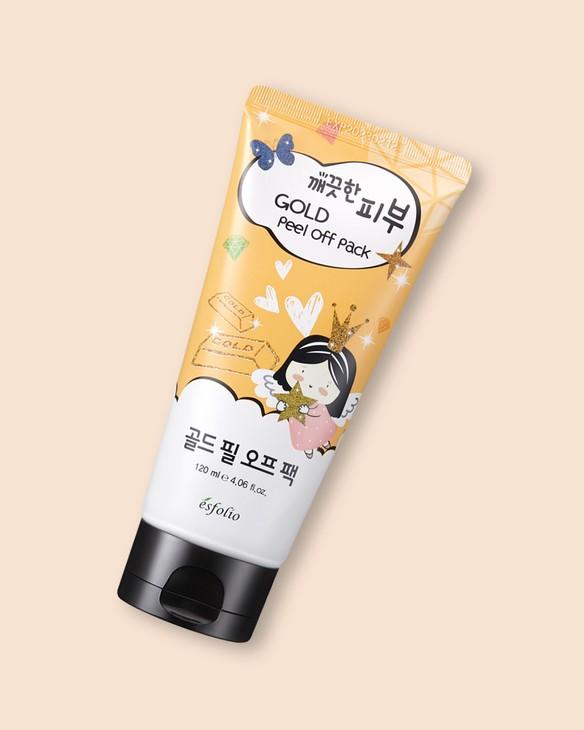 Esfolio Exfoliačná maska Pure Skin Gold Peel Off Pack