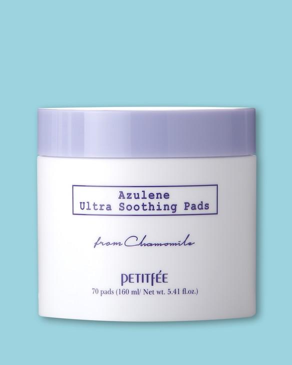 Petitfee & Koelf Upokojujúce vankúšiky na tvár Azulene Ultra Soothing Pads