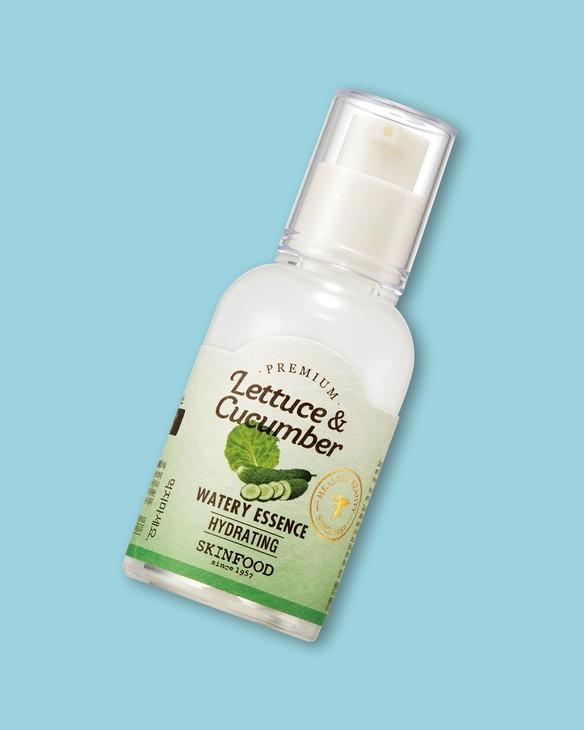 Skinfood Esencia na tvár so šalátom a uhorkou Premium Lettuce & Cucumber Watery Essence