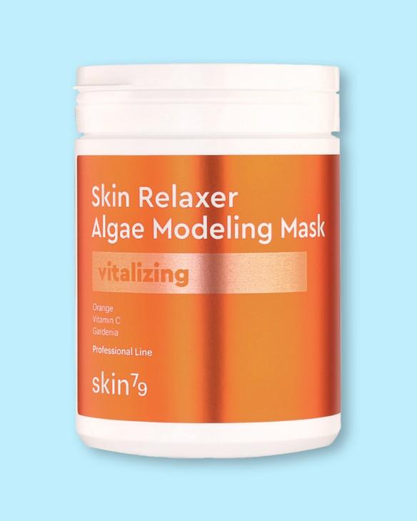 Skin79 Pleťová maska obnovujúca s riasami Skin Relaxer Algae Modeling Mask Vitalizing
