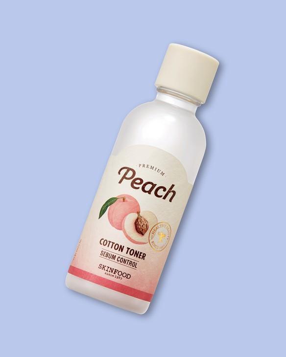 Skinfood Broskýňový toner na tvár Premium Peach Cotton Toner