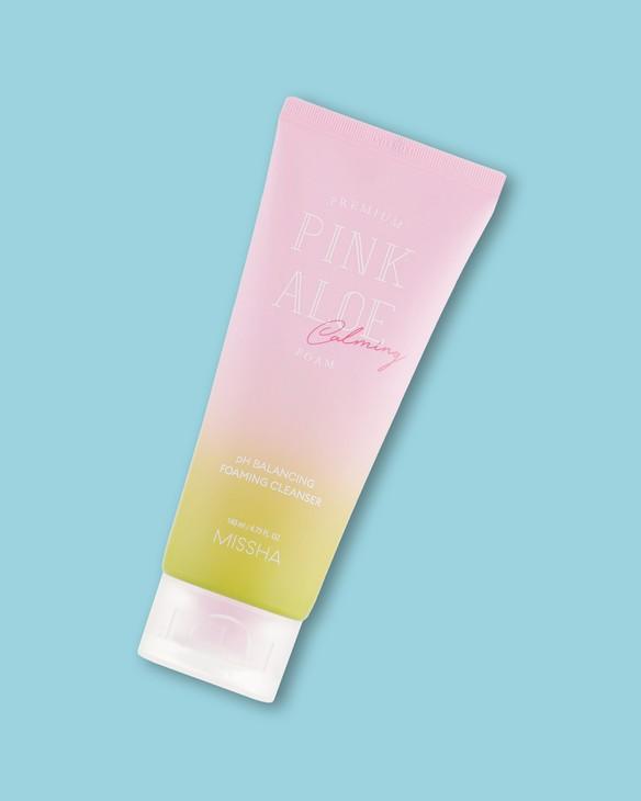 Pena na umývanie Premium Pink Aloe Ph Balancing Foaming Cleanser
