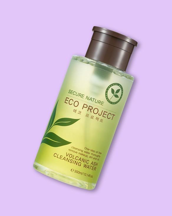 Organická čistiaca voda s vulkanickým popolom Eco Project Volcanic Ash Cleansing Water