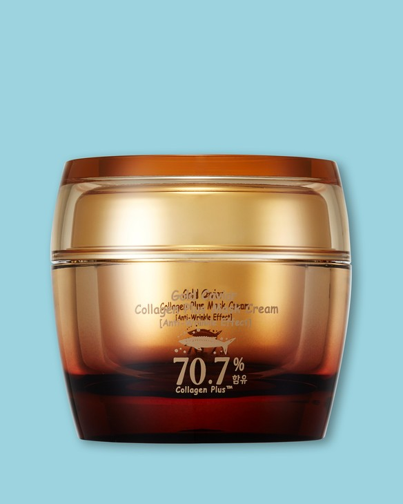 Krém-maska na tvár proti starnutiu s kaviárom a kolagénom Gold Caviar Collagen Plus Mask Cream