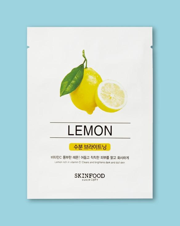 Skinfood Citrónová textílna maska na tvár Beauty In A Food Mask Sheet, Lemon