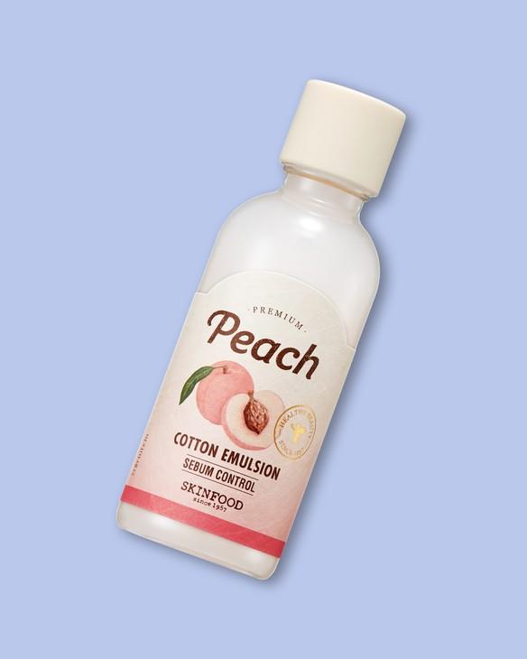 Skinfood Emulzia na tvár s broskyňou Premium Peach Cotton Emulsion