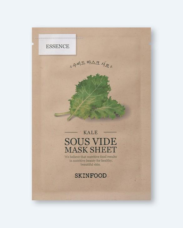 Skinfood Osviežujúca maska Kale Sous Vide Mask Sheet