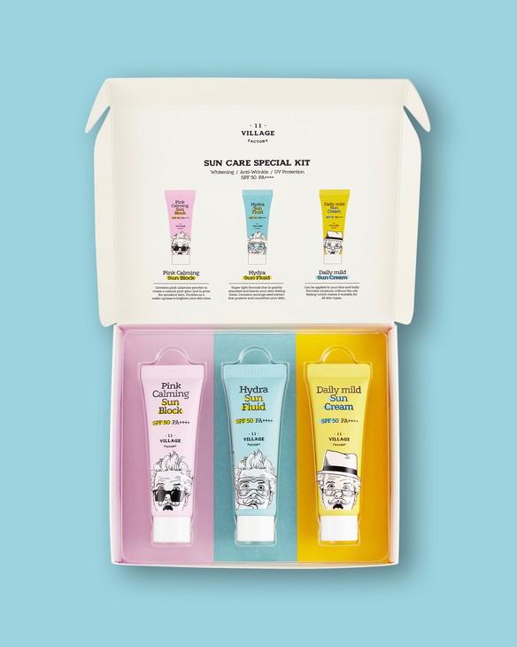 Sada na opaľovanie na tvár Sun Care Special Kit