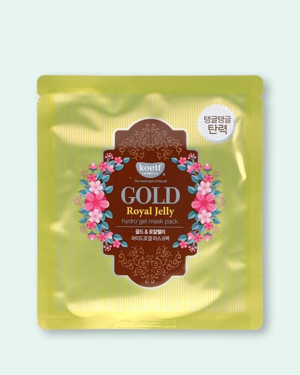 Hydrogélová textílna maska na tvár so zlatom a materskou kašičkou Gold Royal Jelly Hydrogel Face Mask