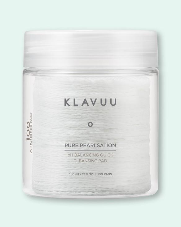 Klavuu Čistiaci prostriedok na tvár Pure Pearlsation pH Balancing Quick Cleansing Pad
