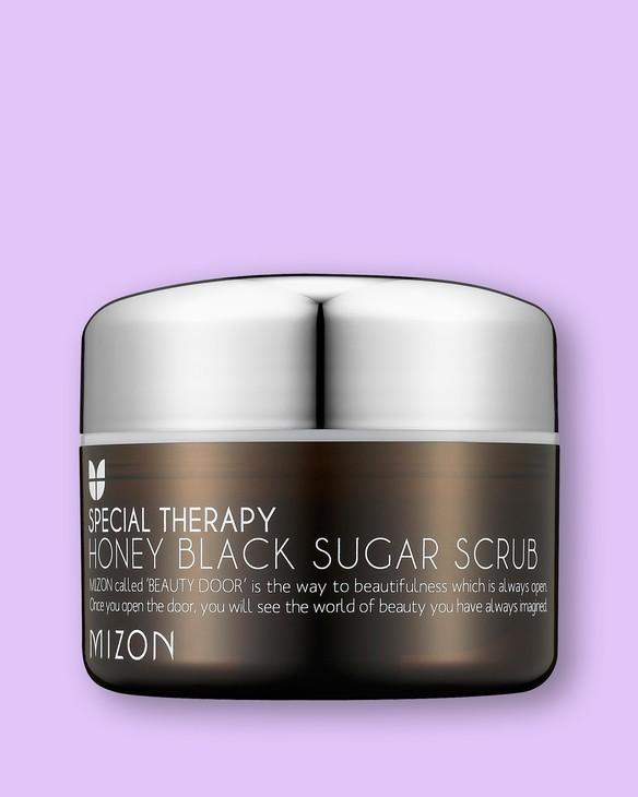 Mizon Čistiaci peeling s čiernym cukrom a medom Honey Black Sugar Scrub