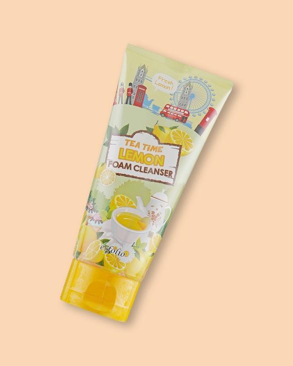 Pena s extraktom citróna Tea Time Lemon Foam Cleanser