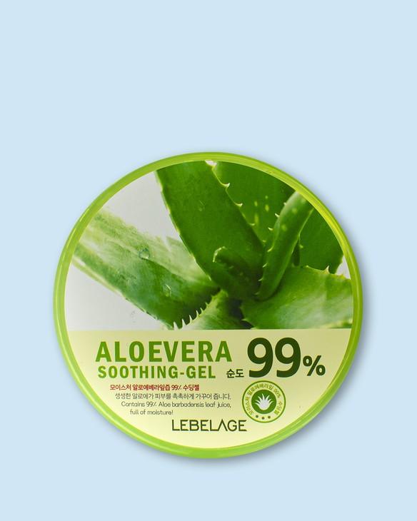 Lebelage Hydratačný gél s aloe Jeju Moisture Aloe Vera 99% Soothing Gel
