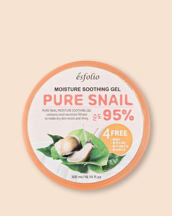 Gél s filtrátom sekrécie slimákov Pure Snail Moisture Soothing Gel 95%