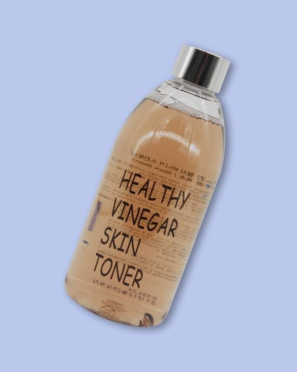 Realskin Toner na tvár s octom a čiernou fazuľou Healthy Vinegar Skin Toner Black Bean