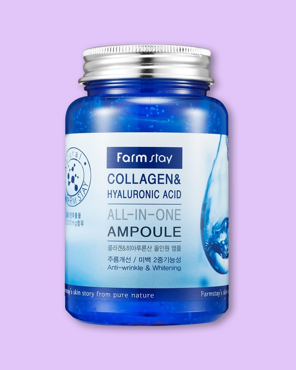 Farmstay Sérum na tvár Collagen&Hyaluronic Acid All-In-One Ampoule