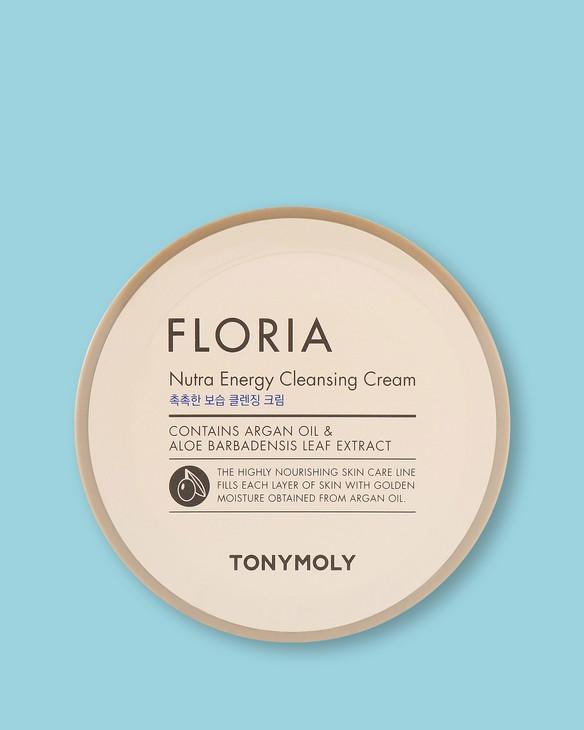 Energetický čistiaci krém s obsahom arganového oleja Floria Nutra Energy Cleansing Cream