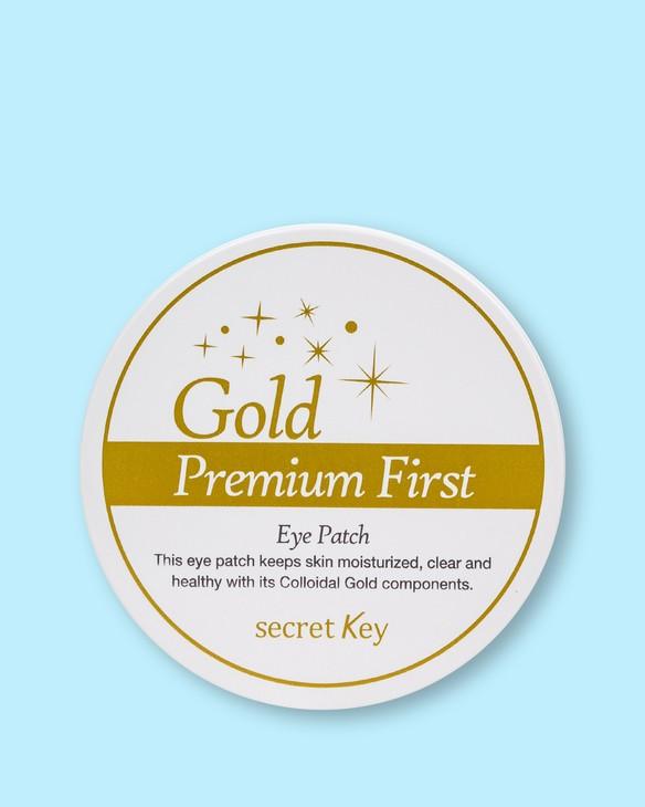 Secret Key Luxusné náplasti Gold Premium First Eye Patch
