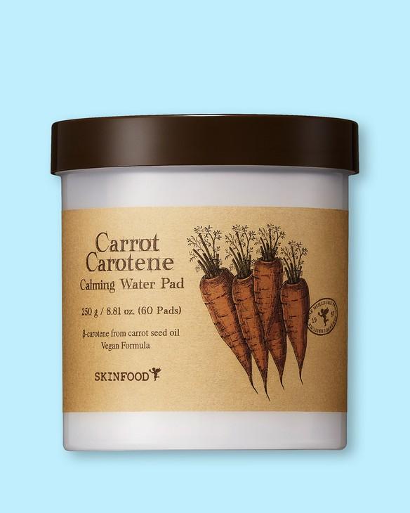 Upokojujúce tamponíky s tonerom Carrot Carotene Calming Water Pad