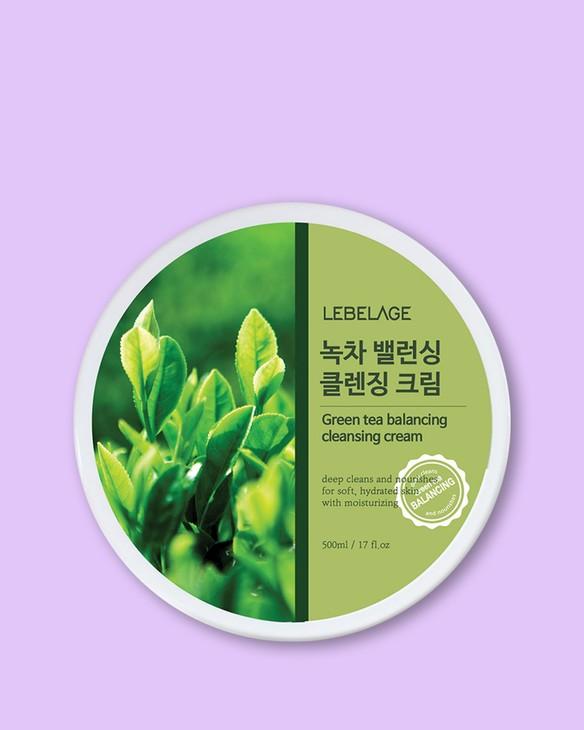 Čistiaci krém s extraktom zo zeleného čaju Green Tea Balancing Cleansing Cream