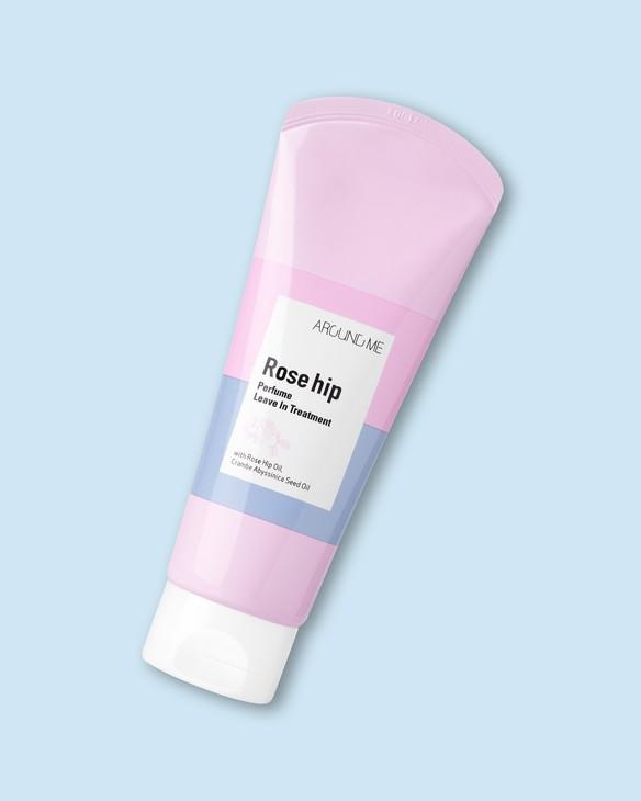 Bezoplachová starostlivosť o vlasy so šípkovým olejom Around Me Rose Hip Perfume Hair Live In Treatment