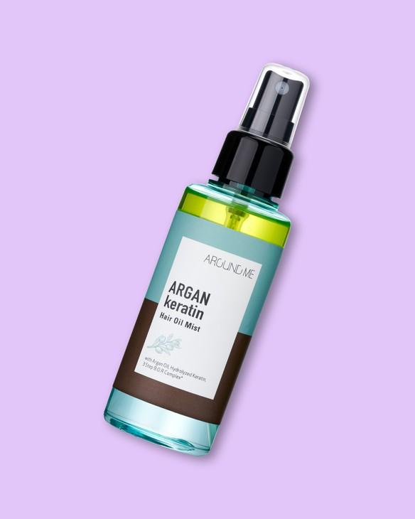 Welcos Sprej na vlasy s arganovým olejom a keratínom Around Me Argan Keratin Hair Oil Mist