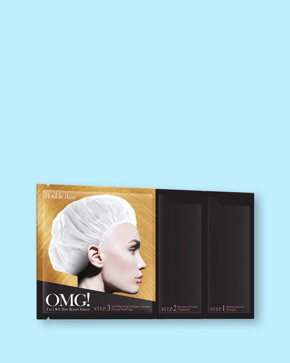 Double Dare Systém starostlivosti o vlasy OMG! 3 in 1 Kit Hair Repair System