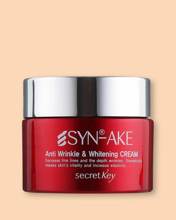 Secret Key Zvlhčujúci krém Syn-Ake Anti Wrinkle & Whitening Cream