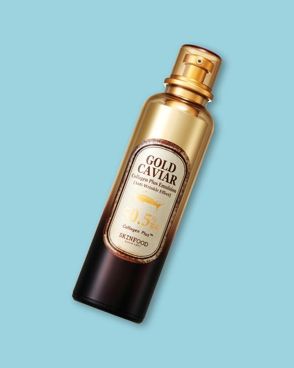 Skinfood Emulzia proti starnutiu s kaviárom a kolagénom Gold Caviar Collagen Plus Emulsion