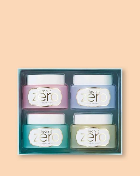 Banila Co Mini wersje balsamu oczyszczającego Clean It Zero Cleansing Balm Set Macaron Edition
