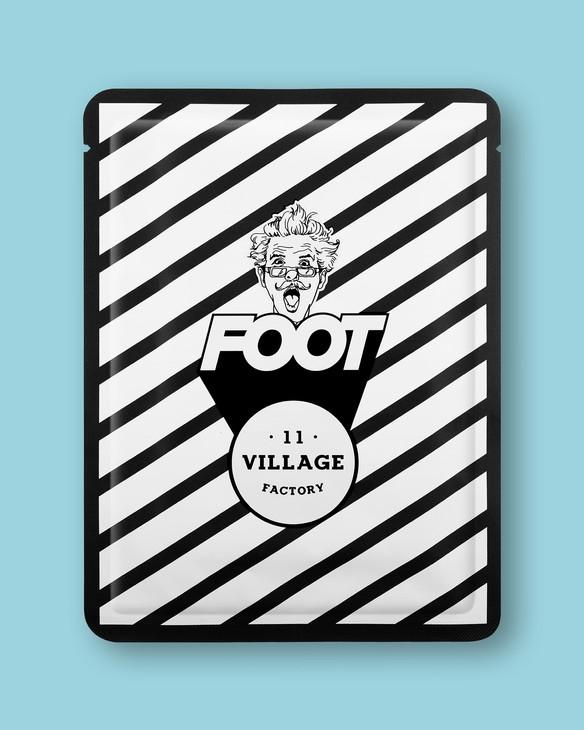 Village 11 Factory Hydratačná maska na nohy Relax-Day Foot Mask