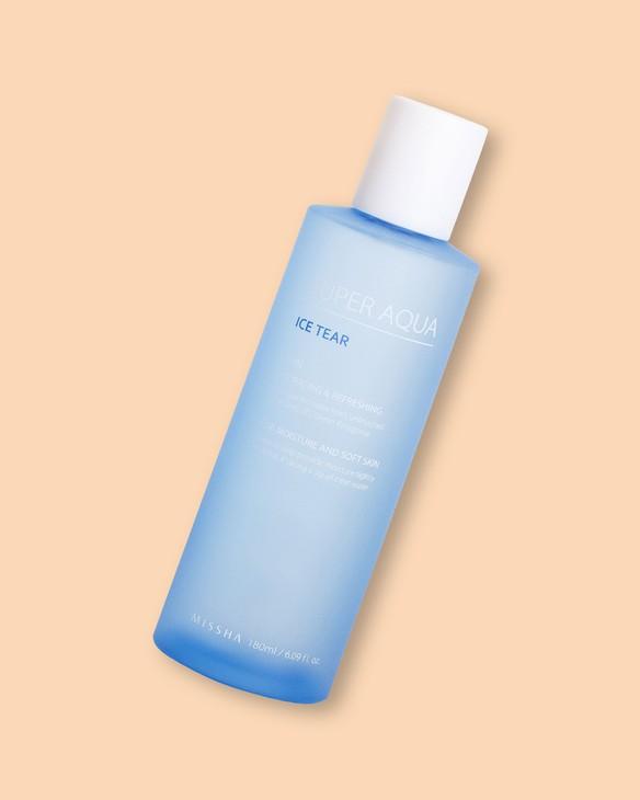 Hydratačný pleťový toner Super Aqua Ice Tear Skin