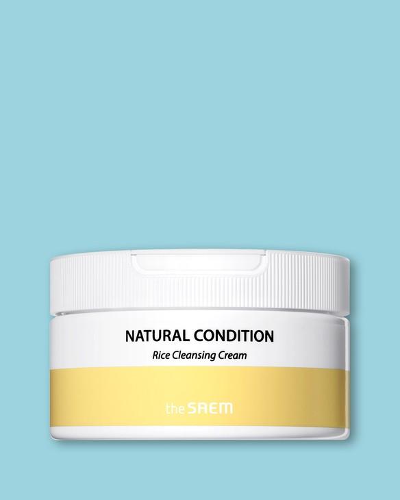 The Saem Čistiaci krém s extraktom ryže Natural Condition Rice Cleansing Cream