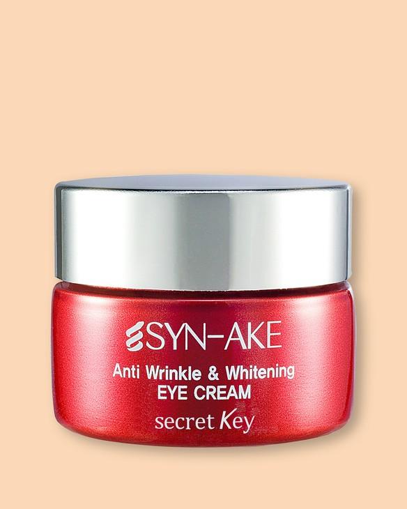 Secret Key Nový očný krém proti vráskam Syn-Ake Anti Wrinkle & Whitening Eye Cream