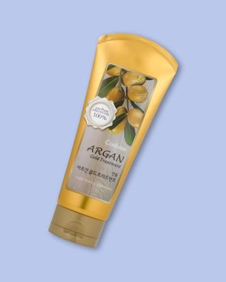 Welcos Maska pre žiarivé vlasy s arganovým olejom a zlatom Confume Argan Gold Treatment